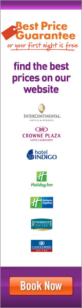 Intercontinental Hotels Group: Best Price Guarantee, Hotels in nearly 100 Countries