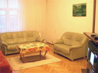 Three room (two bedrooms) apartment rent in Minsk, ID #9, Kiseleva str.